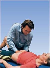 Остеопатия - висцеральная терапия фиксированной почки